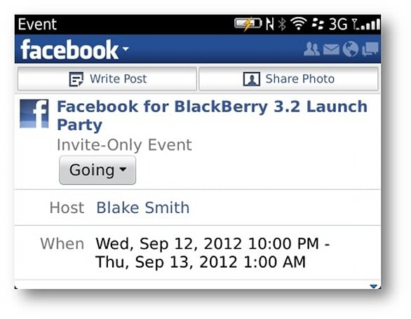 Facebook's latest update to BlackBerry app brings improved notifications and reminders