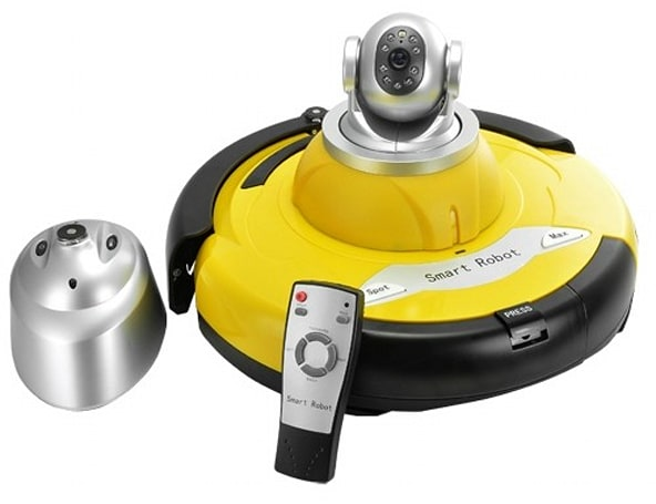 Chinese manufacturer sticks IP webcam on robot vacuum, calls it a day