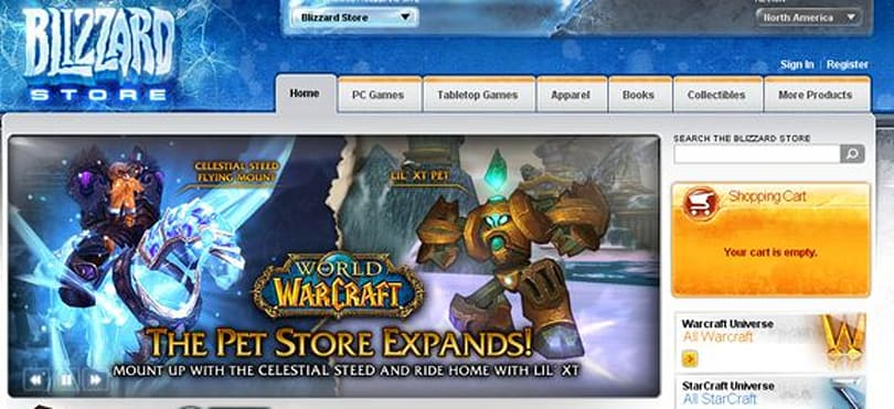 Celestial Steed mount and Lil' XT pet to be sold on the Blizzard store