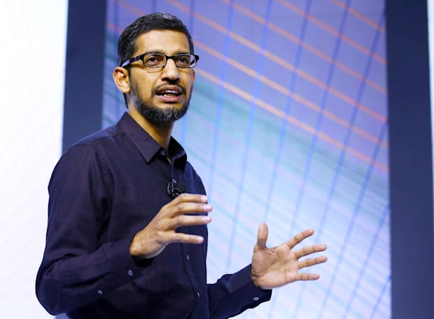Google CEO: FBI's request of Apple could set a 'troubling precedent'