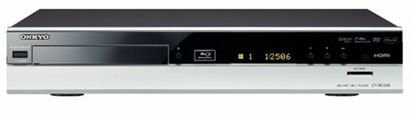 Onkyo's DV-BD606 Blu-ray player goes to Europe, drops to amateur status
