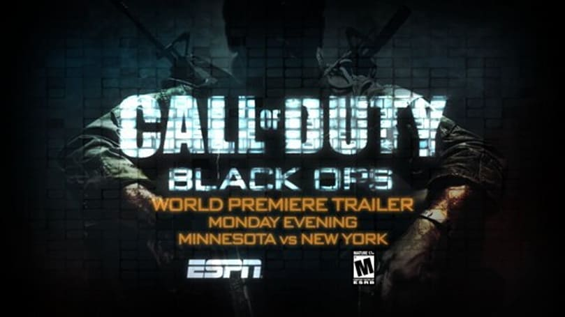 Call of Duty: Black Ops campaign trailer to debut during Vikings vs Jets games