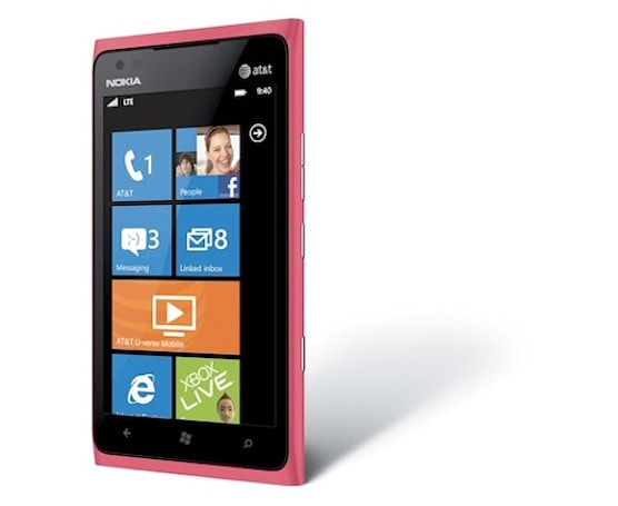 Pink Nokia Lumia 900 headed for AT&T July 15th, demands a Psychedelic Furs ringtone