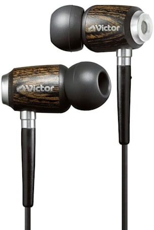 JVC gives HP-FX500 earbuds the classy wooden touch