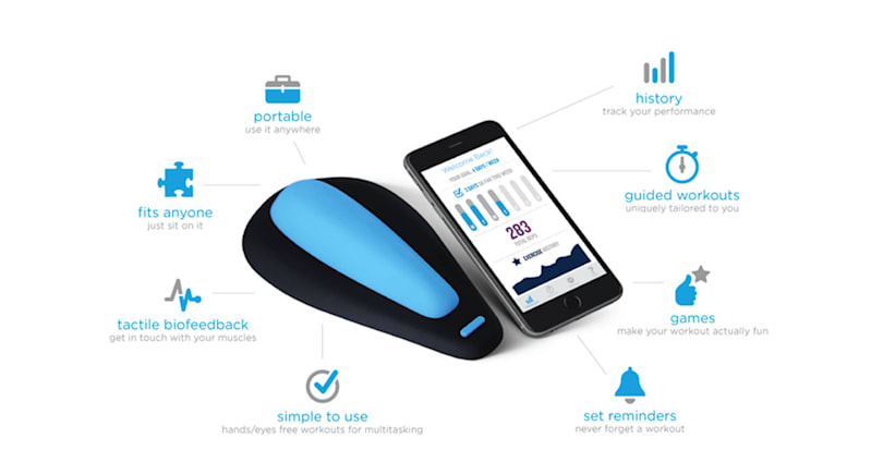 There's now a smart kegel exerciser for men, too