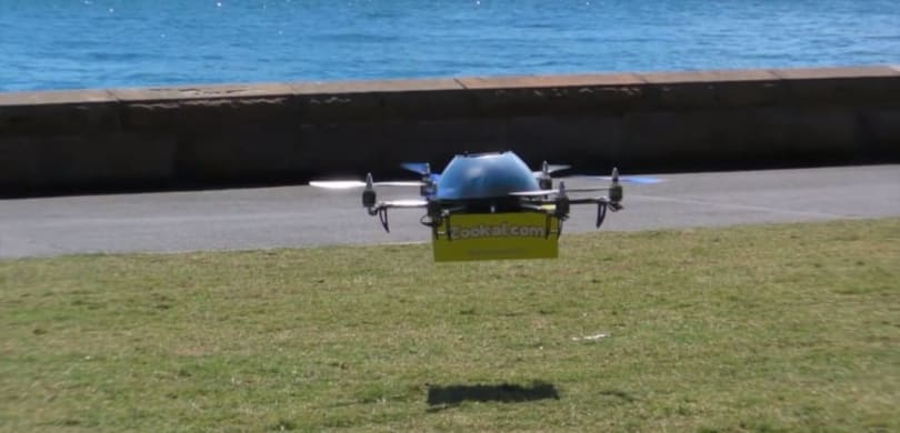 Rural pop-up hospital gets America's first drone delivery