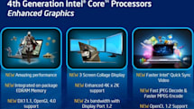 Intel details 4th-gen Core's HD 5000, Iris and Iris Pro graphics: up to 3X faster, 3-display collage mode