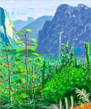 De Young Museum exhibit highlights the iPad art of David Hockney