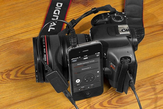 Triggertrap: nine ways to activate your DSLR with an iOS device, choose one