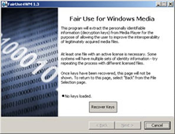 FairUse4WM v1.3 Fix 2 promises Vista, Zune DRM stripping
