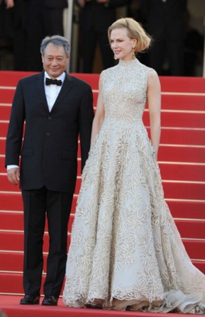 Is Nicole Kidman Wearing the Valentino Dress Anne Hathaway 'Snubbed' at the Oscars?