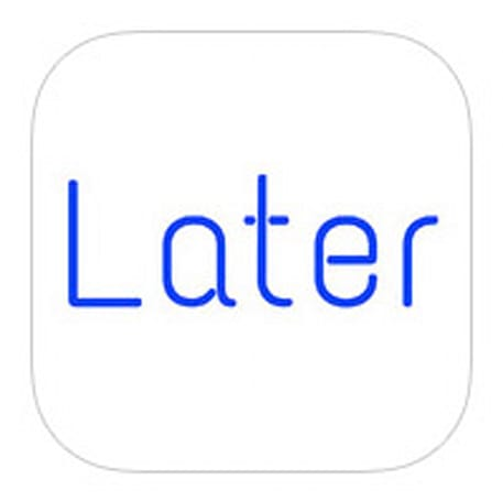 Later for iOS reminds you to send those texts, tweets and emails at the right time