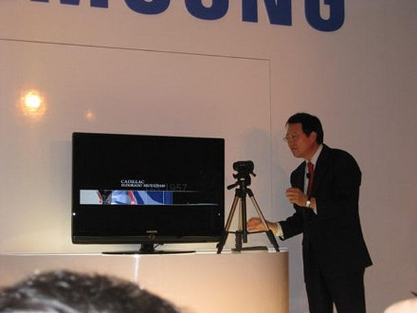 Video: Samsung announcements overview, HD WiFi video camera in action