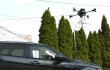Autowaschen mit der Drohne