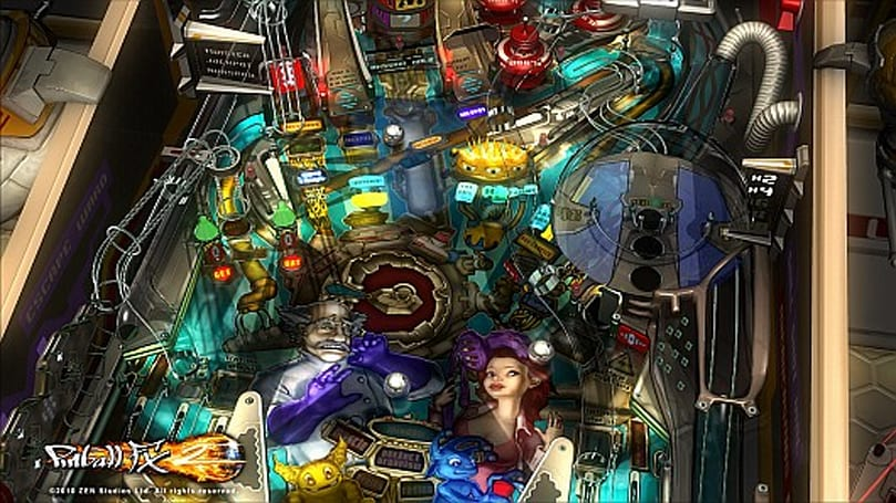 BioLab table revealed for Pinball FX 2