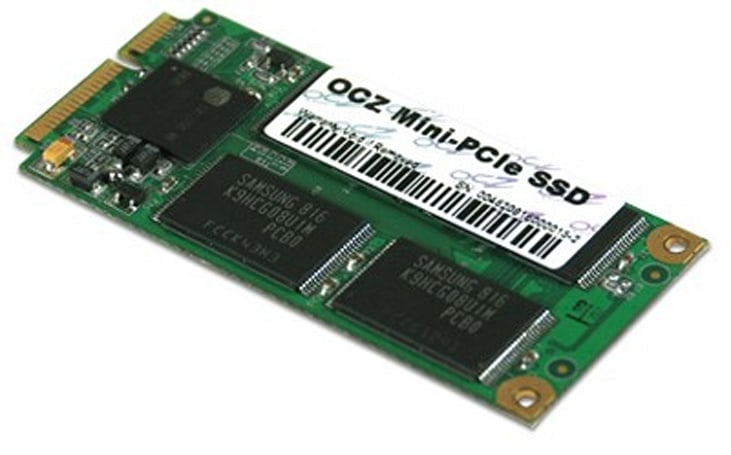 OCZ outs its first Mini-PCIe SSDs in 16GB / 32GB capacities