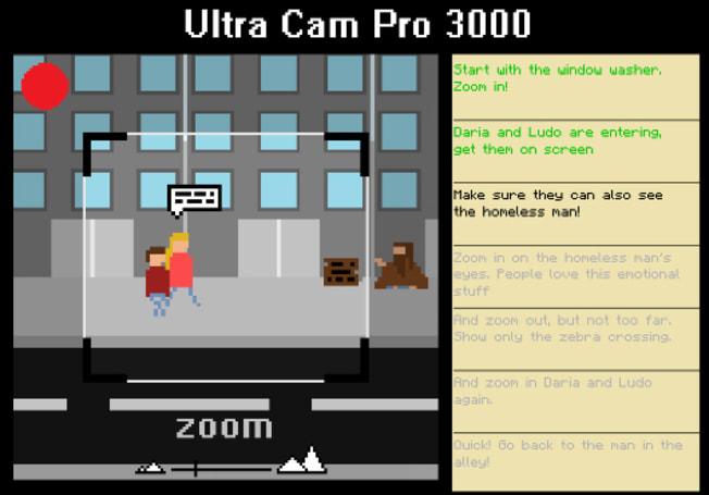 Ludum Dare 28 winner turning one-shot movie making into full PC game