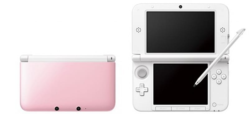 Pink 3DS XL coming to Japan on September 27