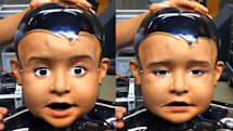 UCSD's robot baby appears, is happy, sad, a little creepy (video)