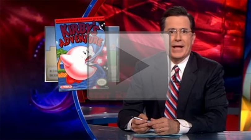 Stephen Colbert follows Nintendo's example, trademarks old catchphrases