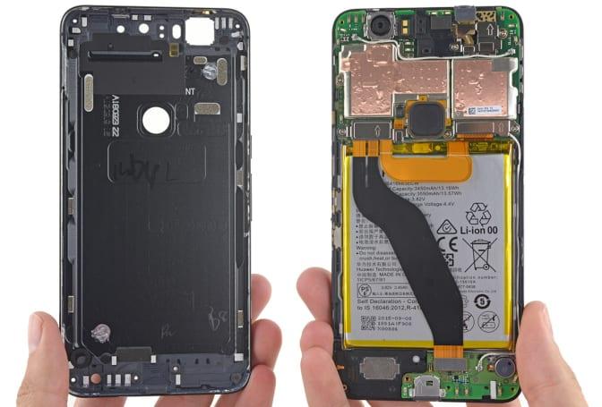 Google Nexus 6P's display will be tough to replace