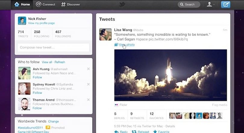 Twitter gets a new look: faster, simpler, cleaner