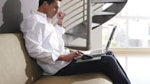 Logitech's Portable Lapdesk N315 takes a stand against carpal tunnel syndrome