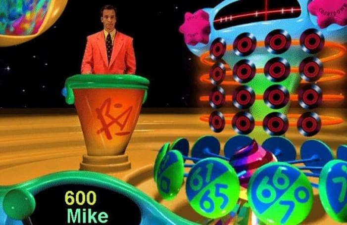 Mike Rowe's forgotten video game role - music trivia host wearing a 'polyester nightmare'