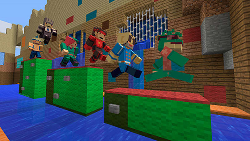 Super Time Force characters invade Minecraft Xbox 360
