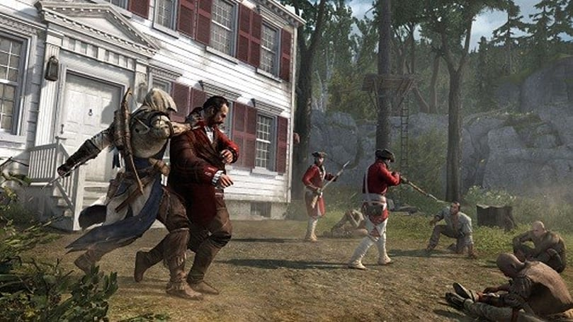 Don't load Assassin's Creed 3 while 'Hidden Secrets' DLC is downloading