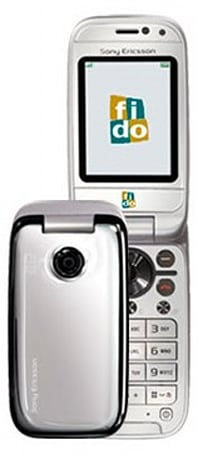 Flaunt your fab phone: Fido scoops up Sony Ericsson Z750i