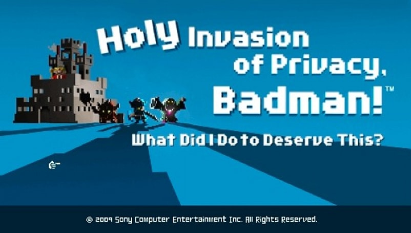 NIS reveals Holy Invasion of Privacy, Badman! for PSP