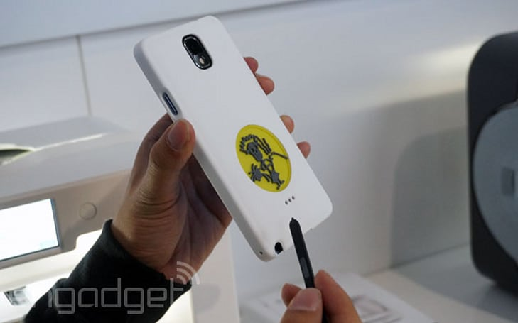 A chip off the 3D-printing block: Samsung partners with 3D Systems for custom Note 3 cases (video)