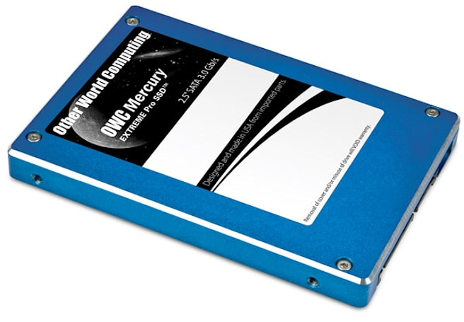 OWC debuts uber-capacious 480GB 2.5-inch Mercury Extreme Pro SSD