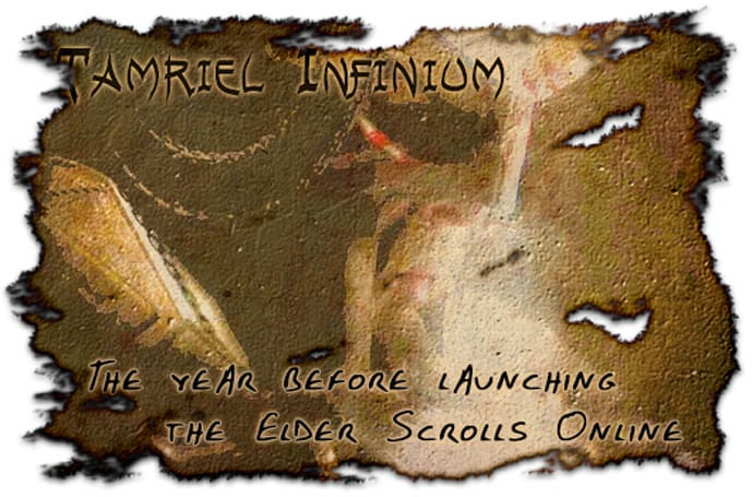 Tamriel Infinium: The year before launching the Elder Scrolls Online