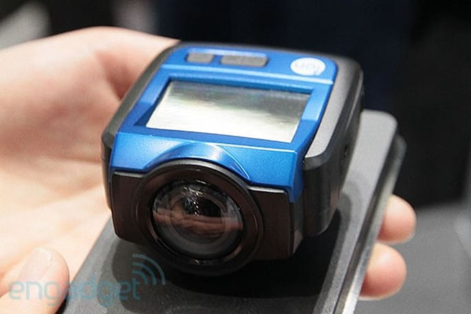 Ion The Game action cam has built-in WiFi and 2.5-inch display, we go hands-on (video)