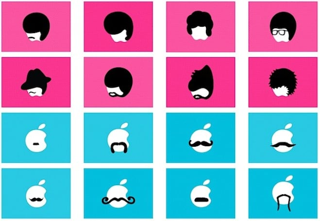 These are the MacBook moustaches you've been looking for