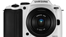 Samsung announces pasty white Limited Edition NX10