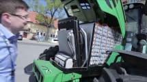 Elektro-Trecker: 130-kWh-Akku und überraschend lärmig