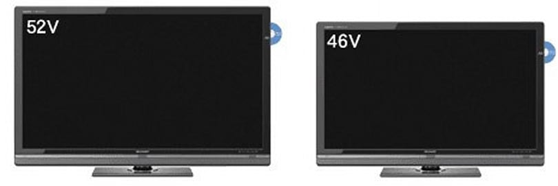 Sharp trots out AQUOS Quattron 3D HDTVs, complete with Blu-ray recorders