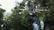 German video effects company builds camera drone for the Red Epic