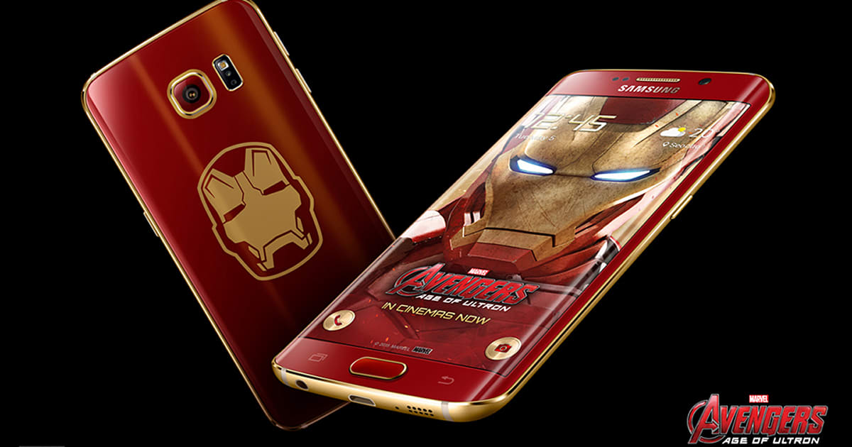 Samsung s iron man edition galaxy s6 edge lacks j a r v i s