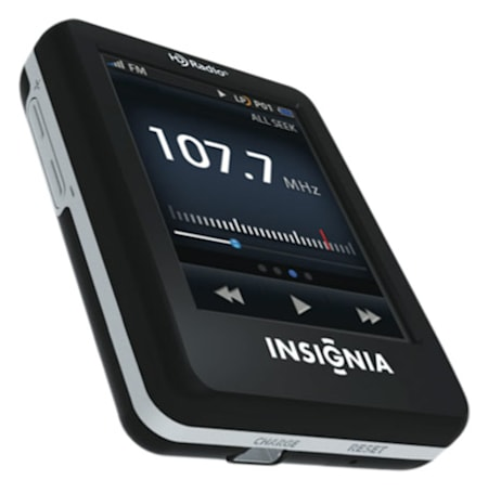 Insignia intros second portable HD Radio: NS-HD02 with 'live pause' and bookmarks