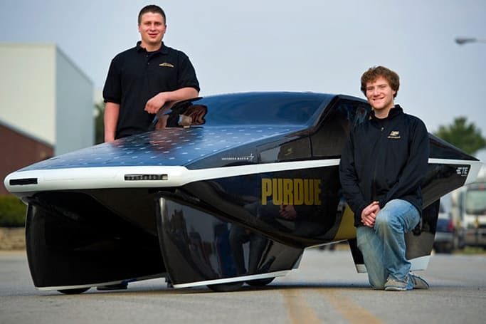 Purdue's Celeritas car scores 2,200MPG from the sun, wins Shell Eco-marathon