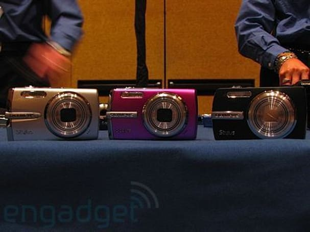 Olympus Stylus lineup hands-on