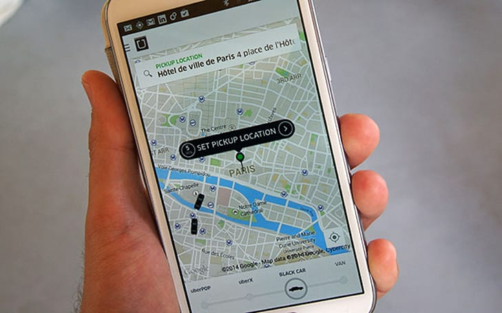 Uber for Business now automatically expenses taxis in 45 countries