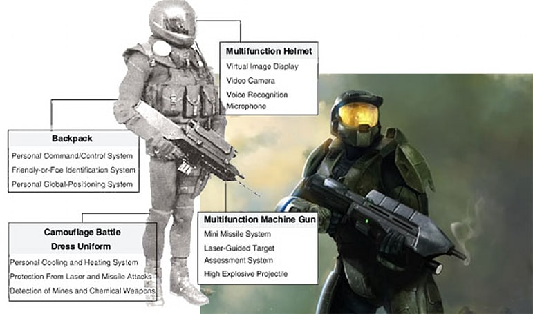 South Korea to develop new high-tech battle uniform - Halo fans approve wholeheartedly