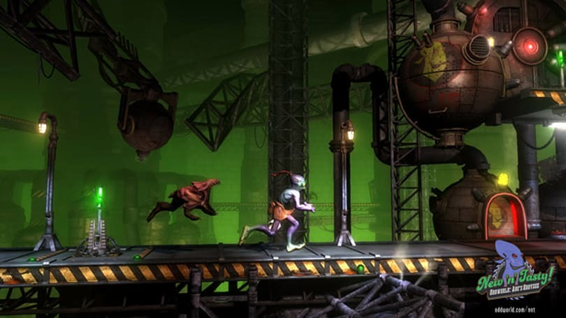 Oddworld: New 'n' Tasty launch trailer is making its escape