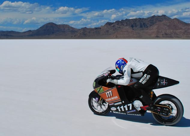 Mission One electric motorcycle surpasses 150 MPH, heading to Snake River Canyon
