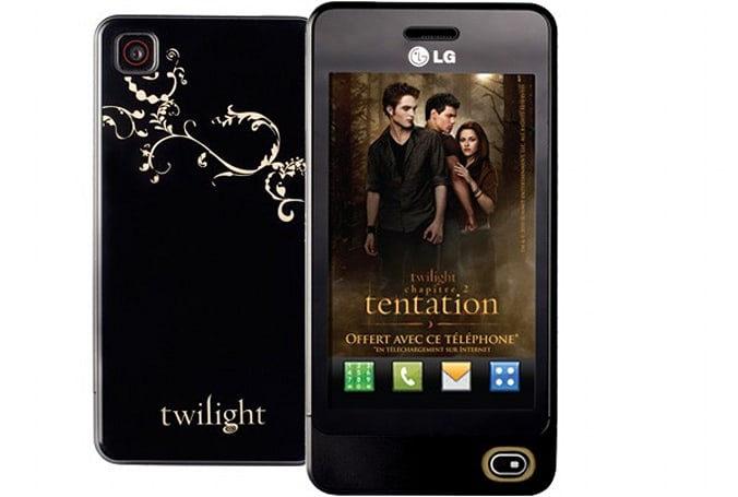 Twilight-customized LG GD510 set to Eclipse all other phones in France